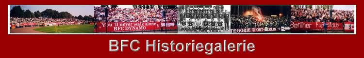 Historische Fotos des BFC Dynamo